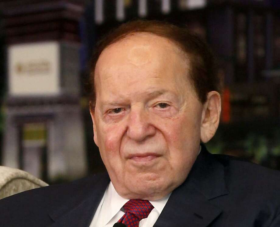 Casino mogul Sheldon Adelson bet over $100 million on the election. Photo: Kin Cheung, Associated Press