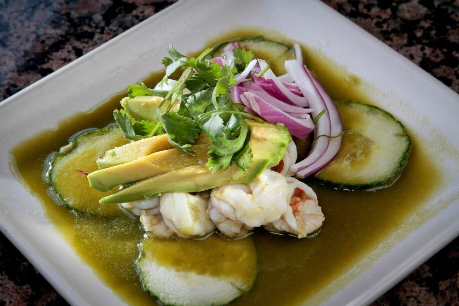 Copita in Sausalito, 2 stars: Shrimp & Scallop Aguachile ($13)