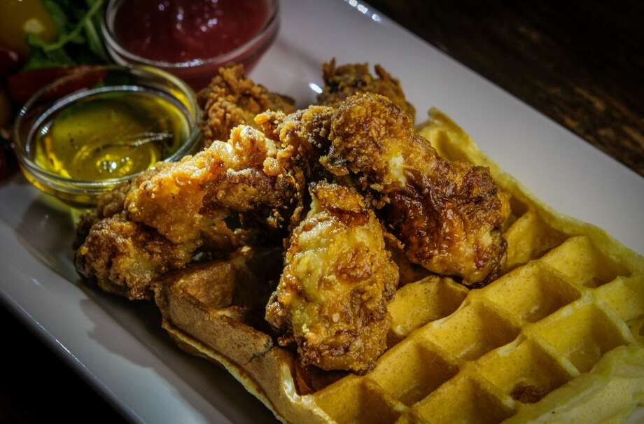 Lincoln Park in San Anselmo, 2.5 stars: Fried chicken drumettes with an herb waffle ($14)