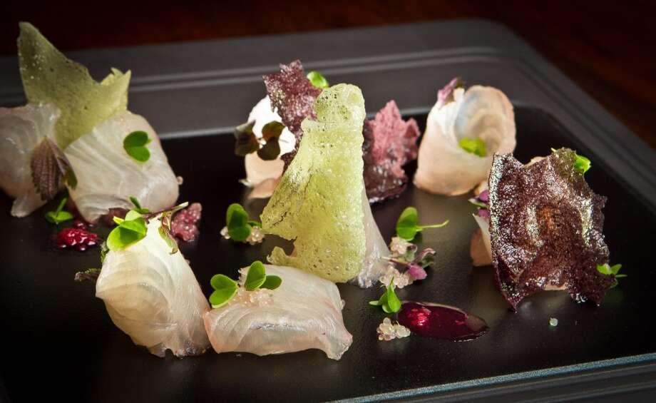 Paralle 37, 2 stars: Kampachi sashimi ($15)