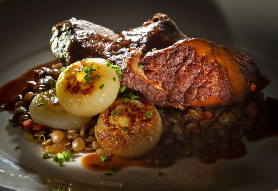 Per Diem, 1.5 stars: Braised tomato truffle brisket ($21)