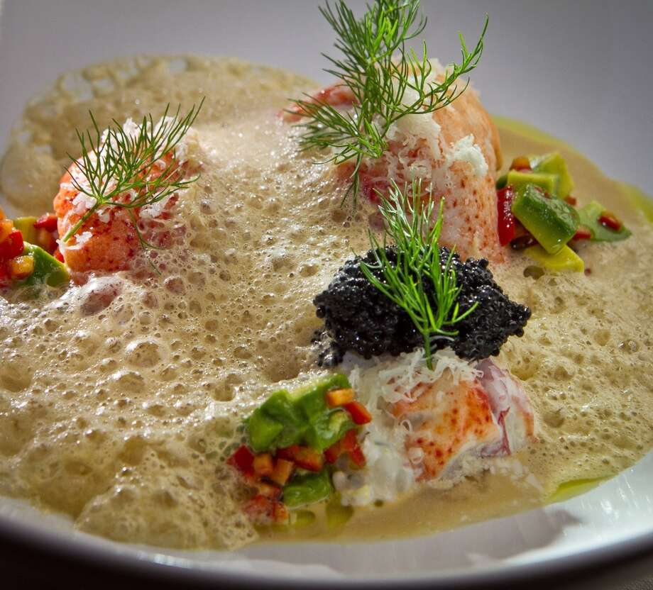 Plaj, 2.5 stars: Krondill poached lobster Skagen, white fish caviar, horseradish, avocado, chili ($21)