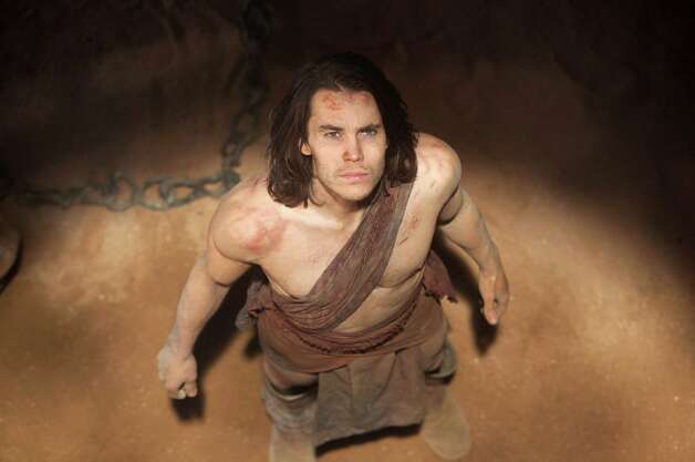 "In this film image released by Disney, Taylor Kitsch is shown in a scene from ""John Carter."" (AP Photo/Disney, Frank Connor) Photo: Frank Connor / ©2011 Disney. JOHN CARTER™ ERB, Inc."