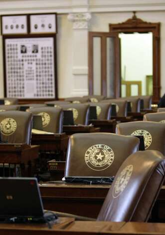 The Texas House chamber will soon be buzzing with activity as the 2103 legislative session gets underway in Austin. Photo: Harry Cabluck, AP / AP