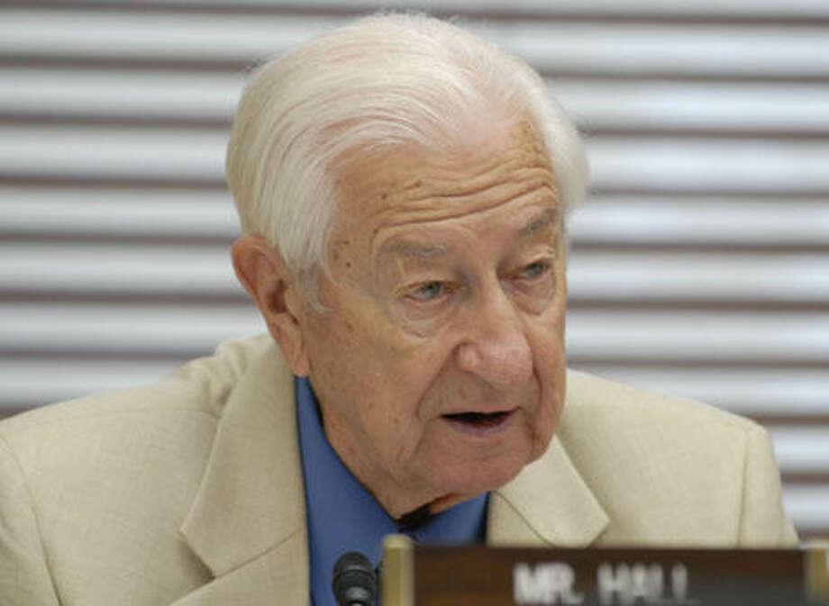 Rep. Ralph Hall (Meredith McDermott / Hearst Newspapers)