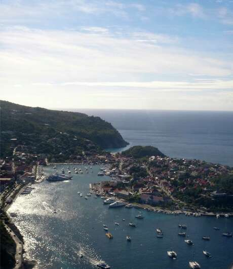 Aerial view of St. Barths, December 2, 2012. Credit: Lindsey Love Photo: Lindsey Love