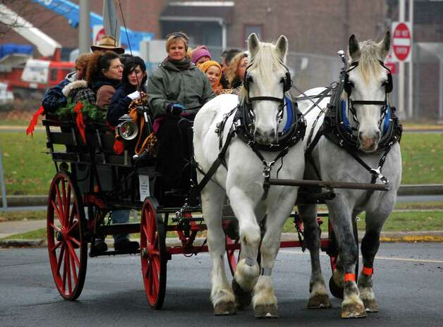 Carriage rides around the city will be featured at First Night Hartford. Photo: Contributed Photo