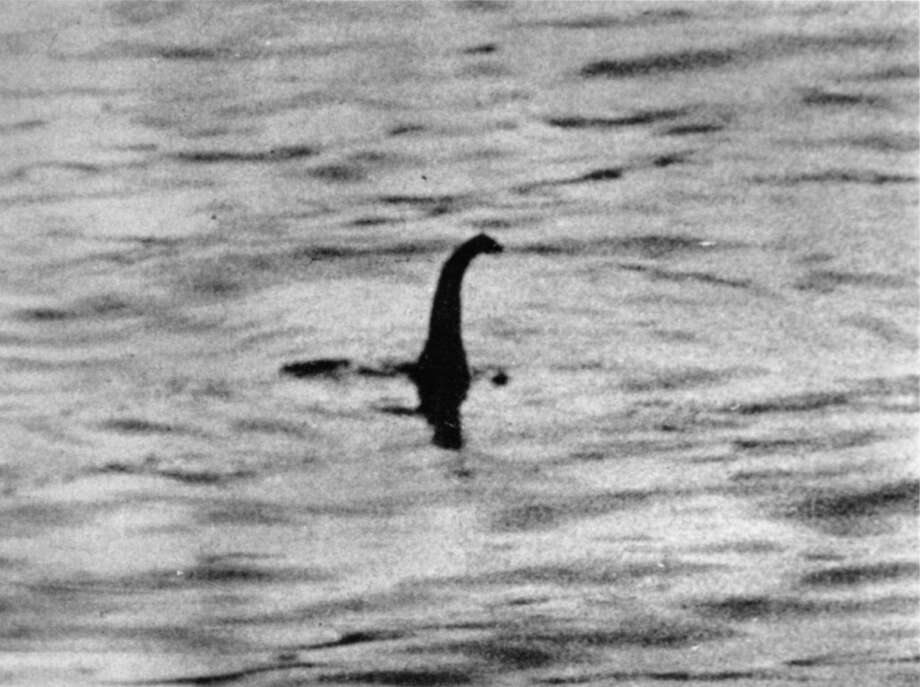 """Photo courtesy SUNY Press The famous """"Surgeon's Photo"""" taken in the 1930s was widely reproduced and accepted as a valid sighting until it was revealed as a hoax in 1994. The image was made with a toy submarine fitted with a serpent's head."""