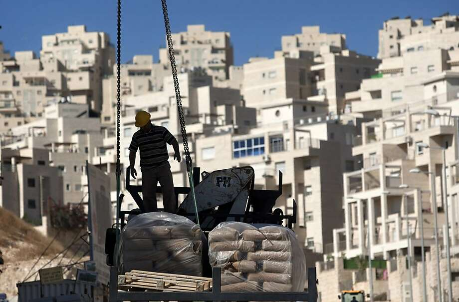 More than 5,000 apartments in East Jerusalem are close to the stage where construction can begin, including a project to build the first new Jewish settlement there in 15 years. Photo: Sebastian Scheiner, Associated Press