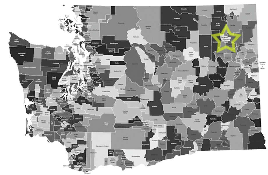 16. Summit Valley School District: 35.4 percent of school-age children in the district live in poverty. Photo: Data From Census Bureau, Maps From Office Of Superintendent Of Public Instruction