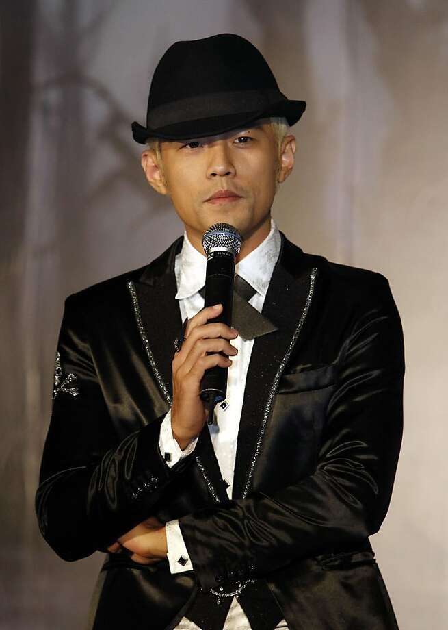 Jay Chou talks about his new CD, which he says was inspired by popular court dramas. Photo: Wally Santana, Associated Press