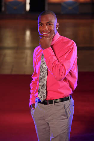 Portrait of Madison's Marquis Warford Tuesday Dec. 18, 2012 at the Santikos Palladium IMAX. Photo: Edward A. Ornelas, Express-News / © 2012 San Antonio Express-News