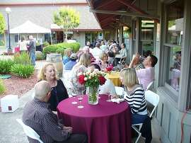 Ty Caton Vineyard's patio
