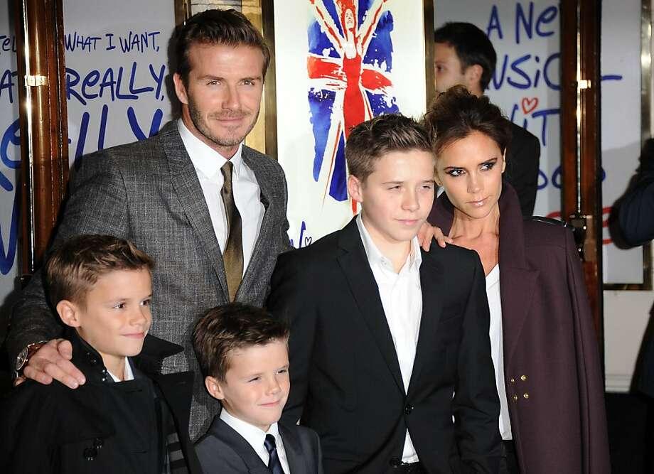 David Beckham Photo: Stuart Wilson, Getty Images