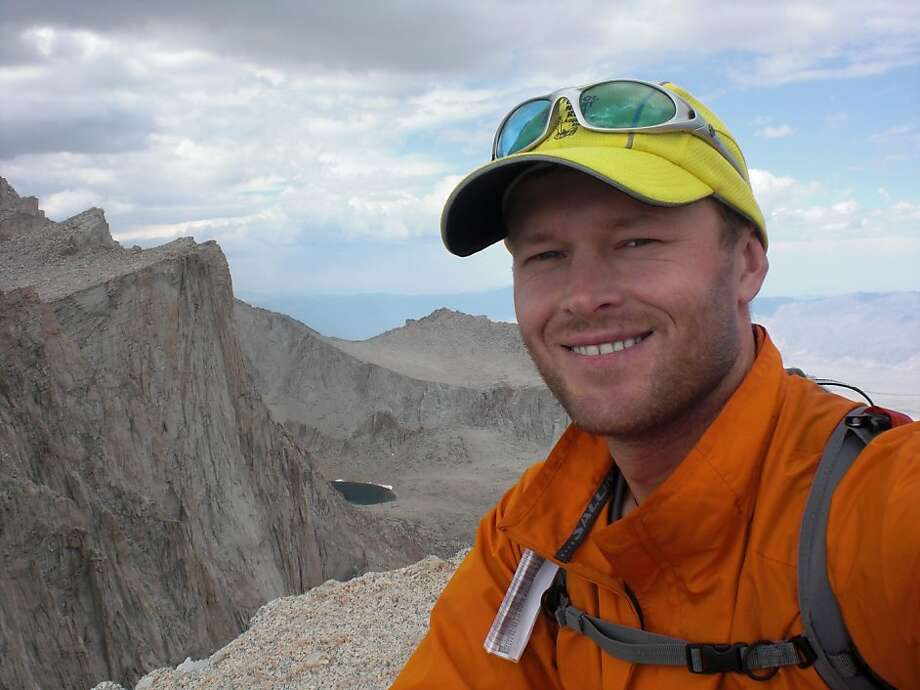 Speed-hiker Michael Popov, who lives in Walnut Creek Photo: Courtesy Of Michael Popov