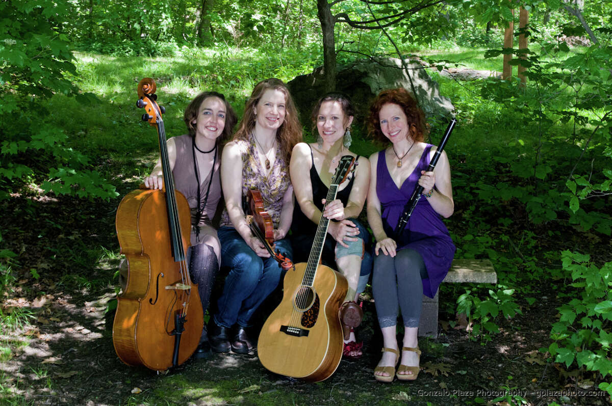 Boston-based Celtic quartet Long Time Courting (Courtesy Old Songs)