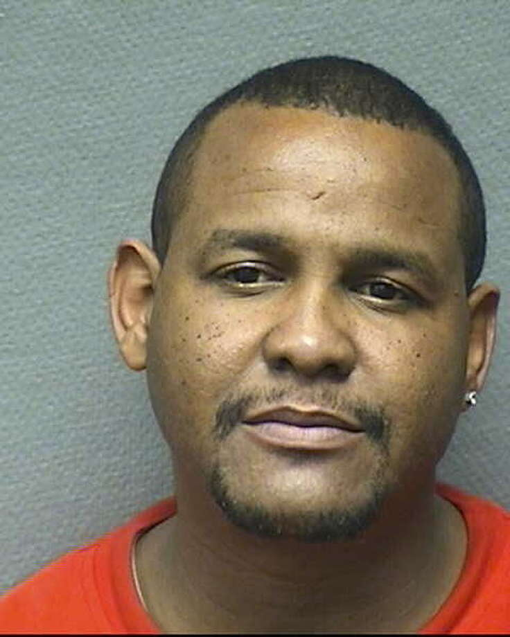 Curtis James Adams, 44, is charged with capital murder in the shooting deaths of LaTasha Jones and her 13-year-old daughter, Jakaela Newhouse. Photo: HPD