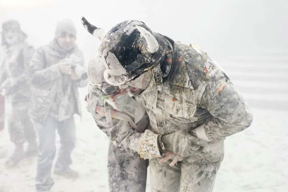 This is a different kind of whiteout. (Photo by David Ramos/Getty Images) Photo: David Ramos, Ap/getty / 2012 Getty Images