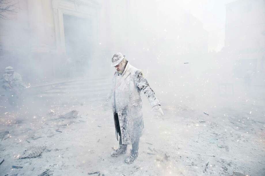 Who cleans this stuff up? (Photo by David Ramos/Getty Images) Photo: David Ramos, Ap/getty / 2012 Getty Images