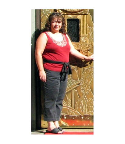 Yvonne Gallardo weighed 206 pounds before she began her weight-loss journey. Photo: Courtesy Yvonne Gallardo