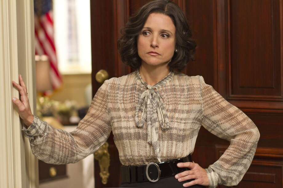 #8 Veep: A vicious little comedy about politics and power -- or, more precisely, the appearance of power -- Veep debuted in the shadow of the much more buzzed about Girls. This is a shame, as Veep is one of the most wicked and whip-smart comedies on the air. The brilliant Julia Louis-Dreyfus plays Vice President Selina Meyer, a woman who longs for power and respect, and has little of either. Her staff is a mix of clever twenty-somethings (including a grown-up Anna Chlumsky of My Girl fame) and bumbling doofuses who are also jostling for position amongst themselves. And though we never learn Selina's political party, or even her political leanings, the result is a hilarious expletive-filled lesson in the absurdity of politics themselves. Veep airs on HBO and returns sometime in 2013. (HBO)