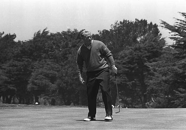 Jack Nicklaus didn't always enjoy playing golf courses in S.F. Photo: Associated Press