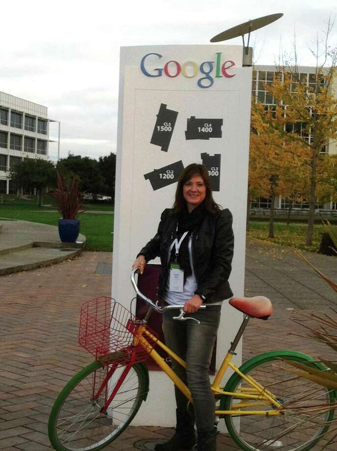 Eisenhower Middle School librarian Teresa Diaz became a Google Certified Teacher after being chosen to attend the Google Teacher Academy in early December at the web companyÕs California campus. Photo: Courtesy Photo