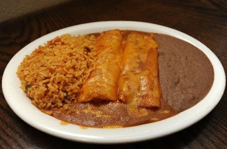 You can never go wrong with cheese enchiladas and the ones at Romero's Grill on Twin City Highway in Nederland are top notch. Randy Edwards/cat5