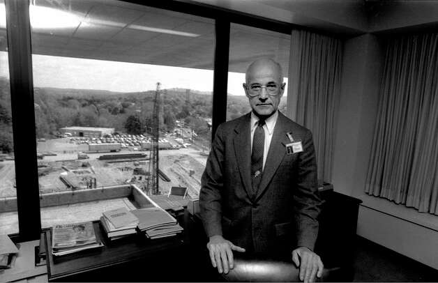 John C. Creasy, who died Dec. 22, was instrumental, as president and CEO of Danbury Hospital for two decades, in transforming the hospital into a modern medical institution. Photo: File Photo