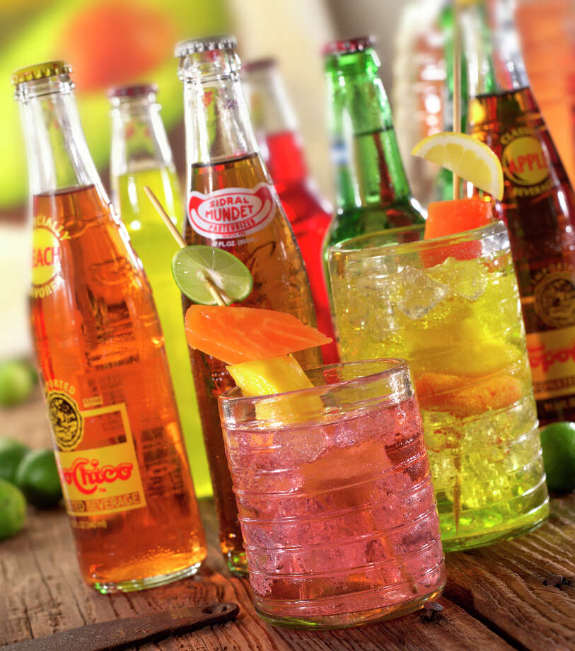 A self-service bar should include soft drinks such as Coke and Dr Pepper. Latin sodas also are a big hit at parties. Photo: Don Strange Of Texas Inc.