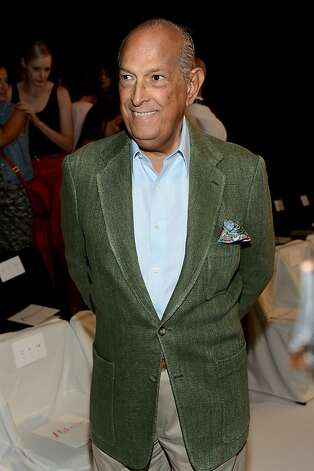 "Sept. 14: New York Times fashion critic Cathy Horyn calls Oscar de la Renta a ""hot dog"" in her review of his spring 2013 collection; he responds with an open letter in WWD calling her a ""stale 3-day-old hamburger."" Next, Horyn butts heads with Hedi Slimane after the designer declines to invite her to his Saint Laurent Paris debut, prompting a scathing review from Horyn and a Twitter screed from Slimane calling Horyn a ""schoolyard bully."" Photo: Dimitrios Kambouris, (Credit Too Long, See Caption)"