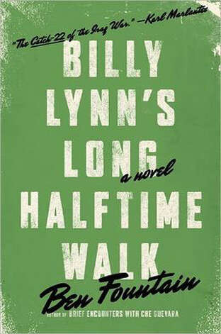 """Billy Lynn's Long Halftime Walk"" for best books of 2012"