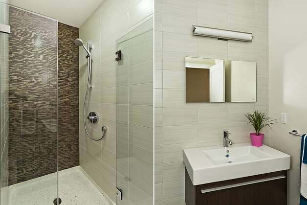The bathroom has heating under the floor to create a spa-like feeling. Photo: Vanguard Properties/SF
