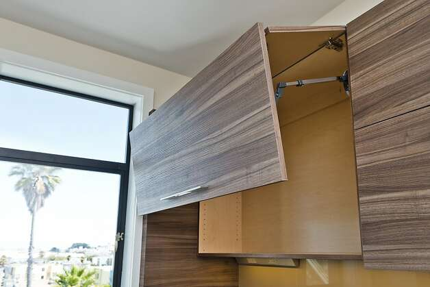 The cabinets are designed to maximize storage space. Photo: Vanguard Properties/SF