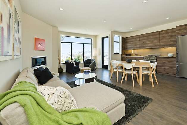The loft features an open floor plan. Photo: Vanguard Properties/SF