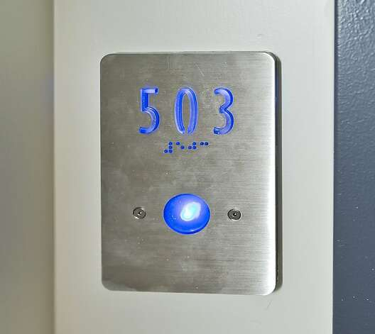 The building has an intercom-entrance system and elevator access to all floors. Photo: Vanguard Properties/SF