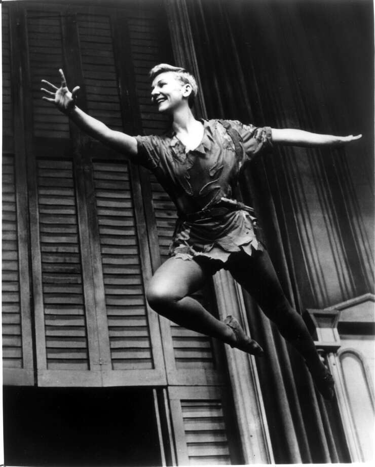 "Mary Martin reached new heights of stardom on Broadway as the title character in ""Peter Pan."" / handout"