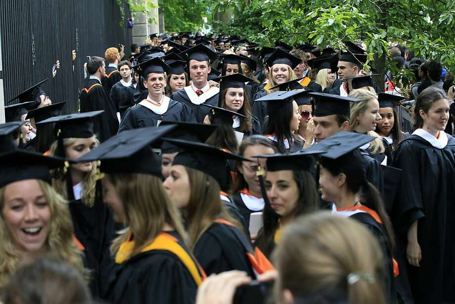 Female MBA graduates earn less than men, sometimes far less, a survey shows. Photo: Mel Evans, Associated Press