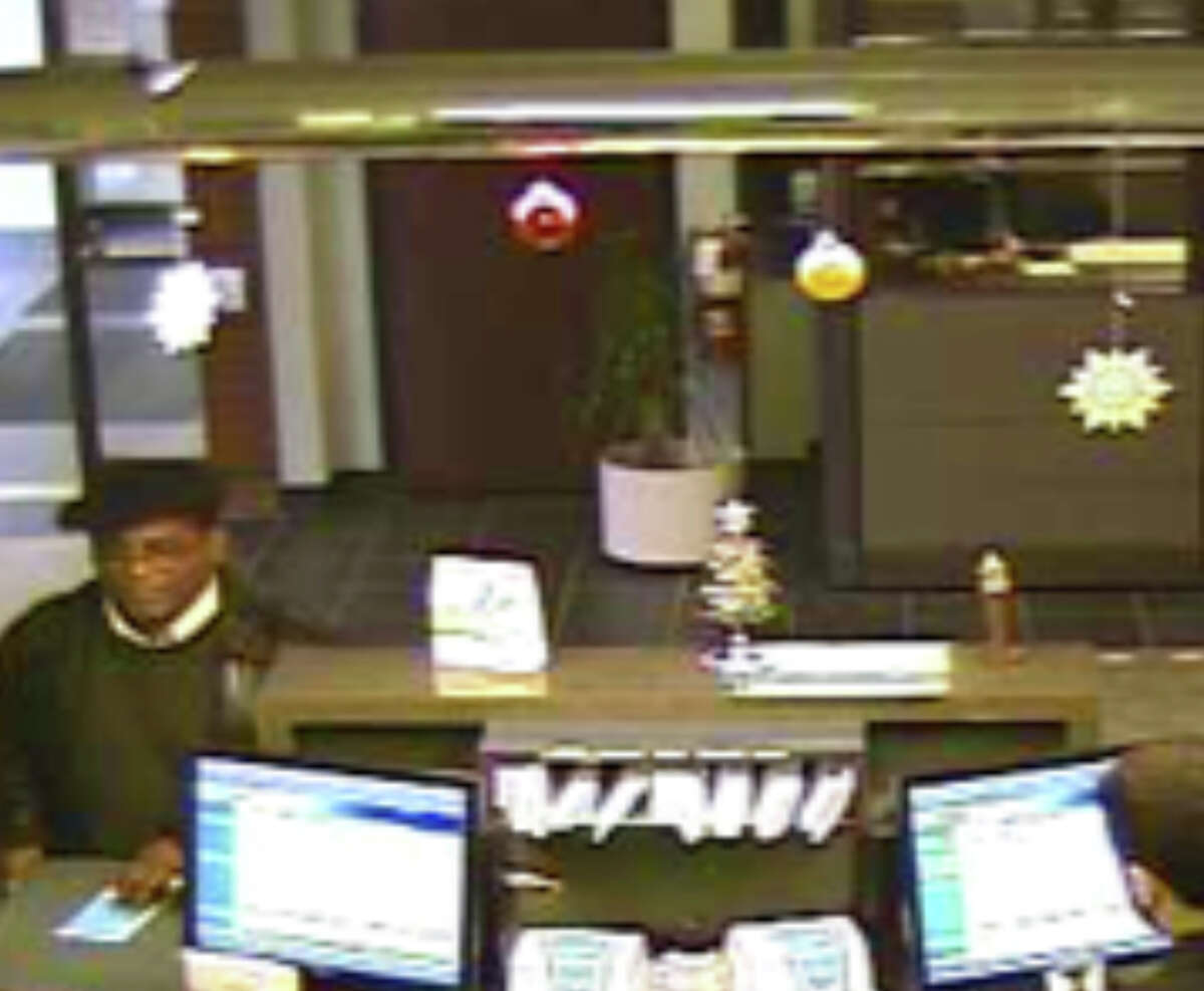An image from a bank surveillance camera shows a suspect in a fraudulent check cashing case, according to the Rensselaer County Sheriff?s Office. (Photo provided)