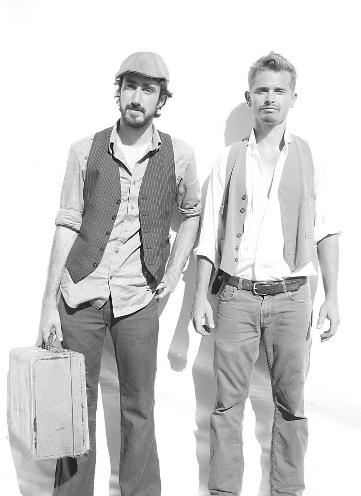 The Easy Leaves: Kevin Carducci (left) and Sage Fifield