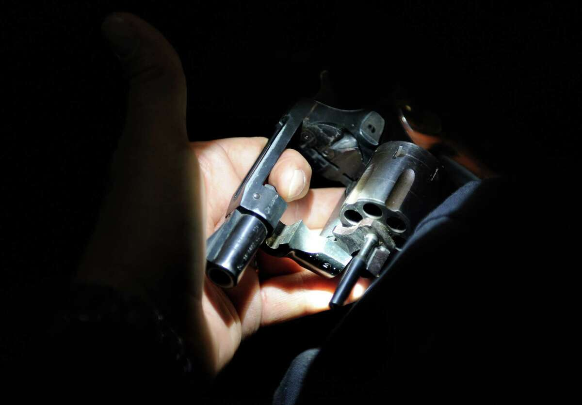A .38 cal. revolver similar to the one Seattle resident Amanda Rensvold is alleged to have hidden in her bra.