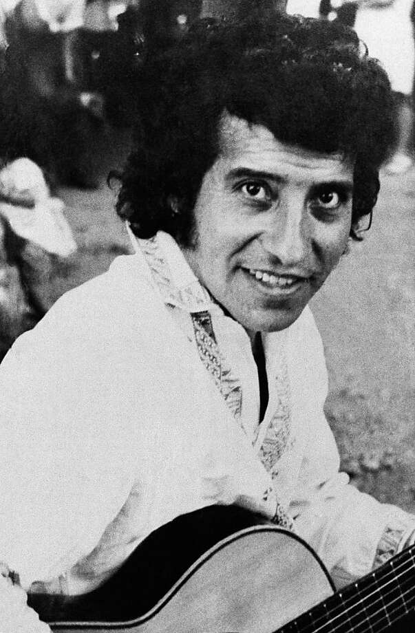 Musician Victor Jara was tortured and killed after the 1973 coup. Photo: Anonymous, Associated Press