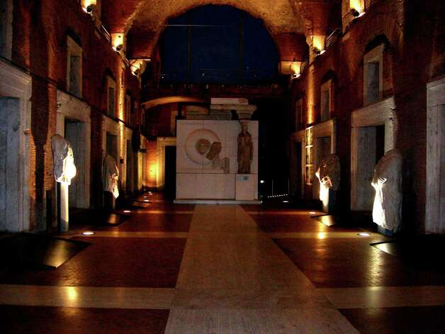 "Fragments of ancient forums are on display at the Museum of Imperial Forums."" Photo: Stefanie Arias, San Antonio Express-News / San Antonio Express-News"
