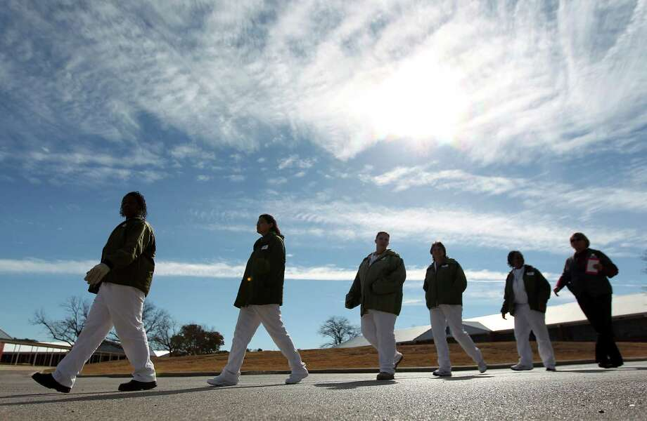 More than 90 inmates take almost two years of training to work in the facility where they produce about 5,000 to 10,000 Braille pages per month and about 50 to 60 books a year. Photo: Johnny Hanson, Houston Chronicle / © 2012  Houston Chronicle