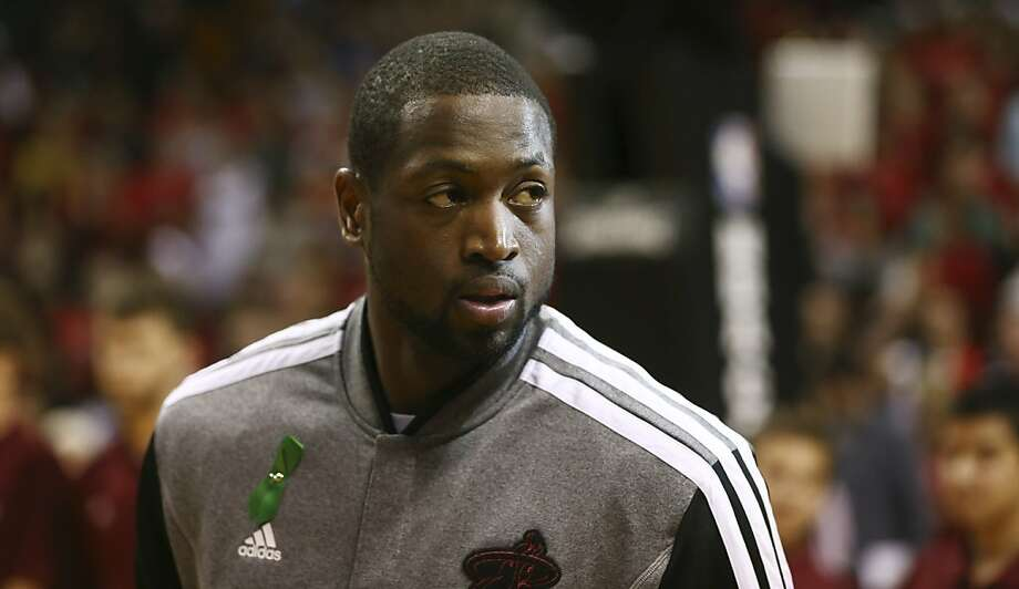 Miami Heat's Dwyane Wade during the first half a NBA basketball game in Miami, Tuesday, Dec. 25, 2012 against the Oklahoma City Thunder. (AP Photo/J Pat Carter) Photo: J Pat Carter, Associated Press