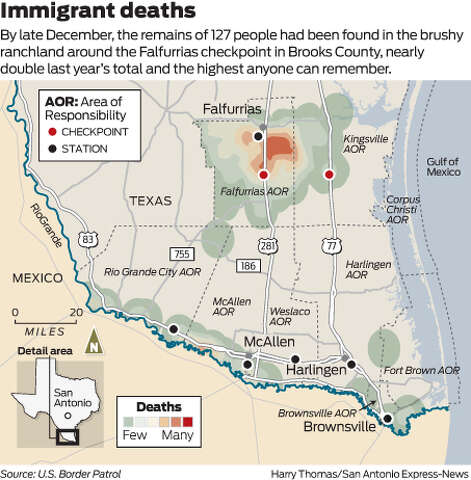 Attempt to ID migrants who died on trek - San Antonio Express-News