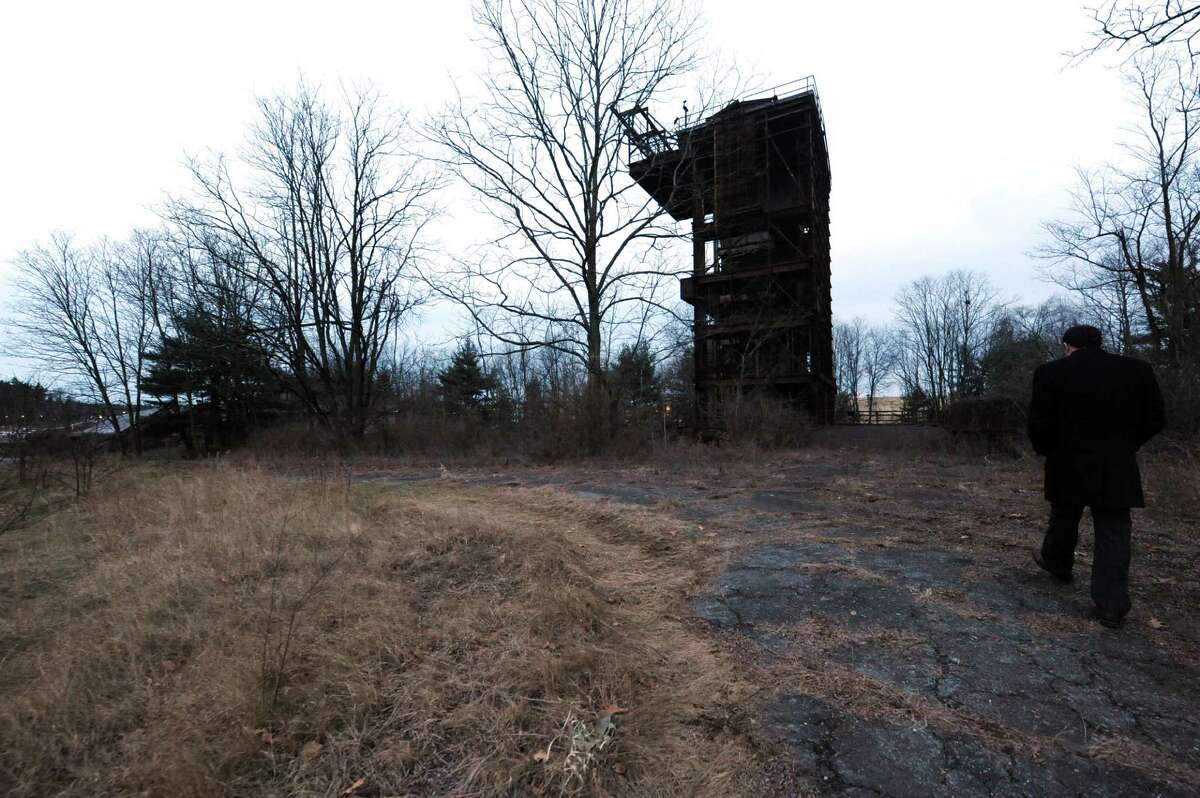 A former munitions test site at Luther Forest in Malta, N.Y., Thursday Dec. 20 2012. (Michael P. Farrell/Times Union)
