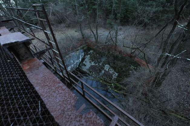 A former munitions test site at Luther Forest in Malta, N.Y., Thursday Dec. 20 2012. (Michael P. Farrell/Times Union) Photo: Michael P. Farrell
