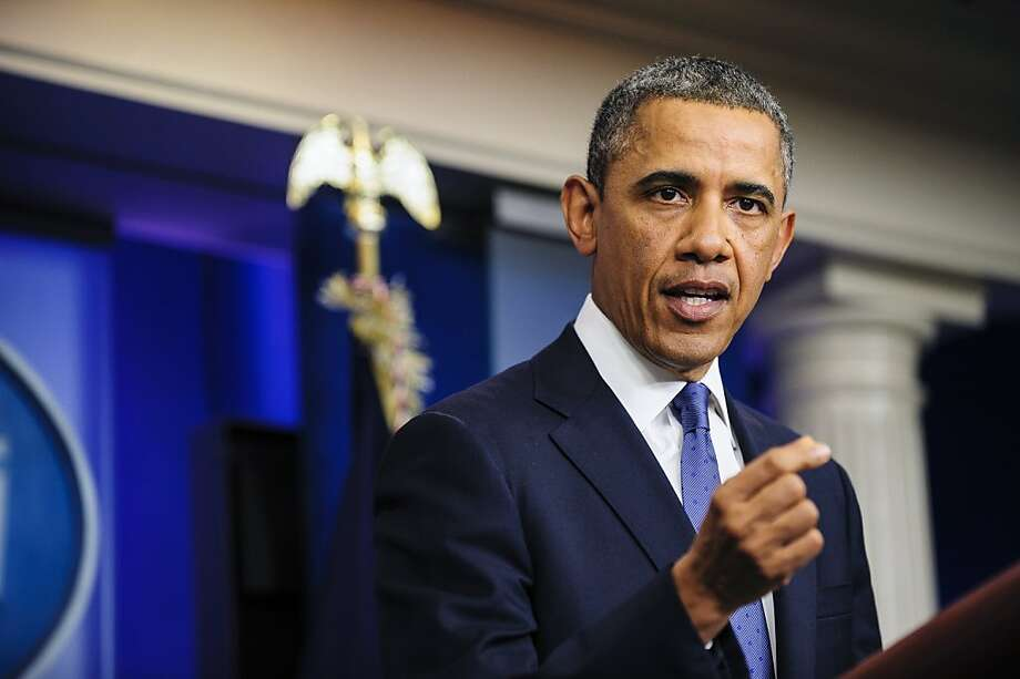 "U.S. President Barack Obama said he's ""modestly optimistic"" Congress can pass a bill to avert the ""fiscal cliff"". Photo: Pete Marovich, Bloomberg"