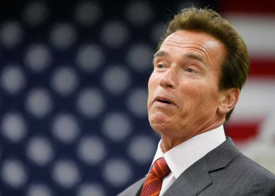 Arnold Schwarzenegger -- suggested by Michael Murphy.